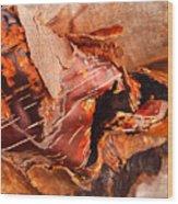 Curled Bark Wood Print