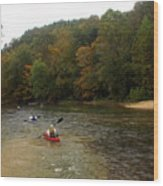 Current River 3 Wood Print