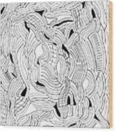 Currents Wood Print