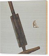 Currier's Shaving Knife Wood Print