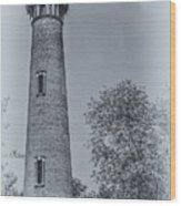 Currituck Beach Lighthouse 2 Wood Print