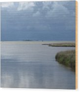 Currituck Sound - 1 Wood Print