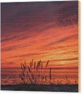 Currituck Sunset II Wood Print