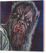 Curse Of The Werewolf Wood Print