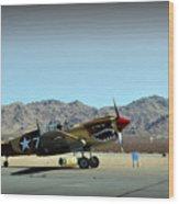 Curtis P40 Warhawk Wood Print