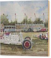 Curts 64 Dollar Question 1949 Wood Print