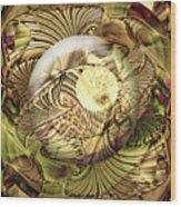 Curvacity Wood Print