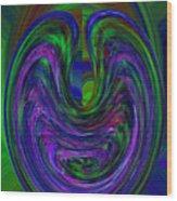 Curve Evolution 1 Wood Print