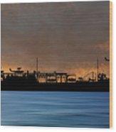 Cus John Adams 1939 V3 Wood Print