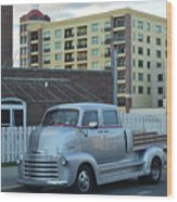 Custom Chevy Asbury Park Nj Wood Print