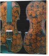 Custom Gliga Viola Wood Print