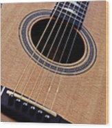 Custom Made Guitar Wood Print