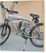 Custom Made Motor Bike Wood Print