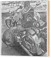 Custom Riders Wood Print