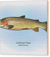 Cutthroat Trout Wood Print