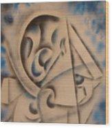 Cuttingedge  Wood Print