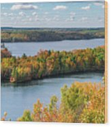 Cuyuna Country State Recreation Area - Autumn #1 Wood Print