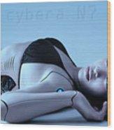 Cybera N7 Wood Print