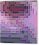 Cyberstructure 5 Wood Print
