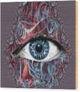 Cyclops Wood Print