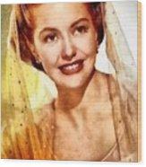 Cyd Charisse, Vintage Hollywood Legend Wood Print