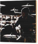 Cymbal-ized Wood Print