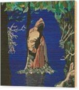 Cypress Knee Wood Print
