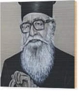 Cypriot Priest Wood Print