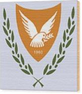 Cyprus Coat Of Arms Wood Print