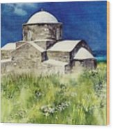Cyprus The Old Church Wood Print