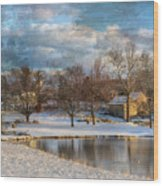 Cyrus Mccormick Farm Wood Print by Kathy Jennings