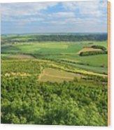 Czech Central Mountains Wood Print