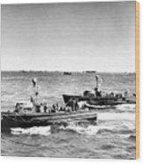 D-day 1944 Wood Print