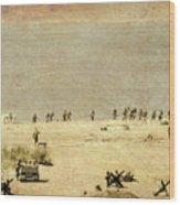 D-day Wood Print