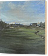 D P World Tour Championship - 18th Tee Wood Print
