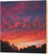 D6b6324 Another Sonoma Sunrise Wood Print