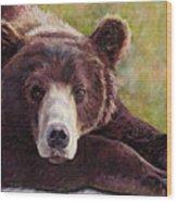 Da Bear Wood Print