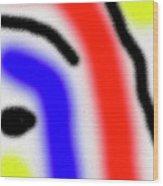 Da  Face  2002 Wood Print