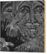 Daffodil Sun And Moon 2 Wood Print