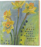 Daffodils II Wood Print