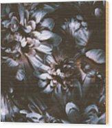 Dahlia Abstraction Wood Print