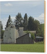 Dahmen Barn Historical Wood Print
