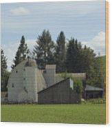 Dahmen Barn Historical Wood Print