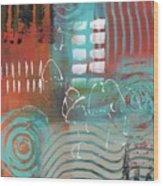 Daily Abstract Week 2, #2 Wood Print