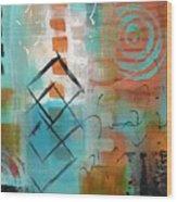 Daily Abstract Week 2, #3 Wood Print
