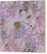Daisies Galore Wood Print