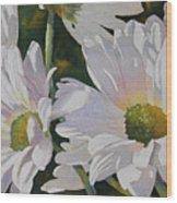 Daisy Bunch Wood Print