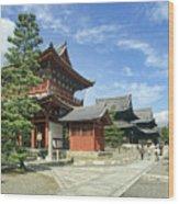 Daitokuji Zen Temple Complex - Kyoto Japan Wood Print