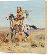 Dakota Chief Wood Print