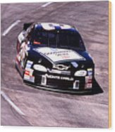 Dale Earnhardt # 3 Goodwrench Chrvrolet 1999 At Martinsville Wood Print